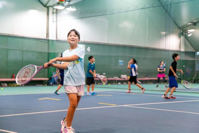 湘南インドアテニスクラブのテニススクール2